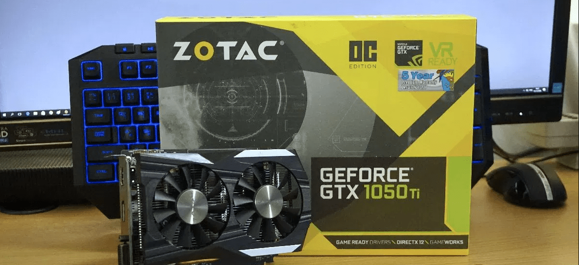 Zotac GeForce GTX 1050Ti